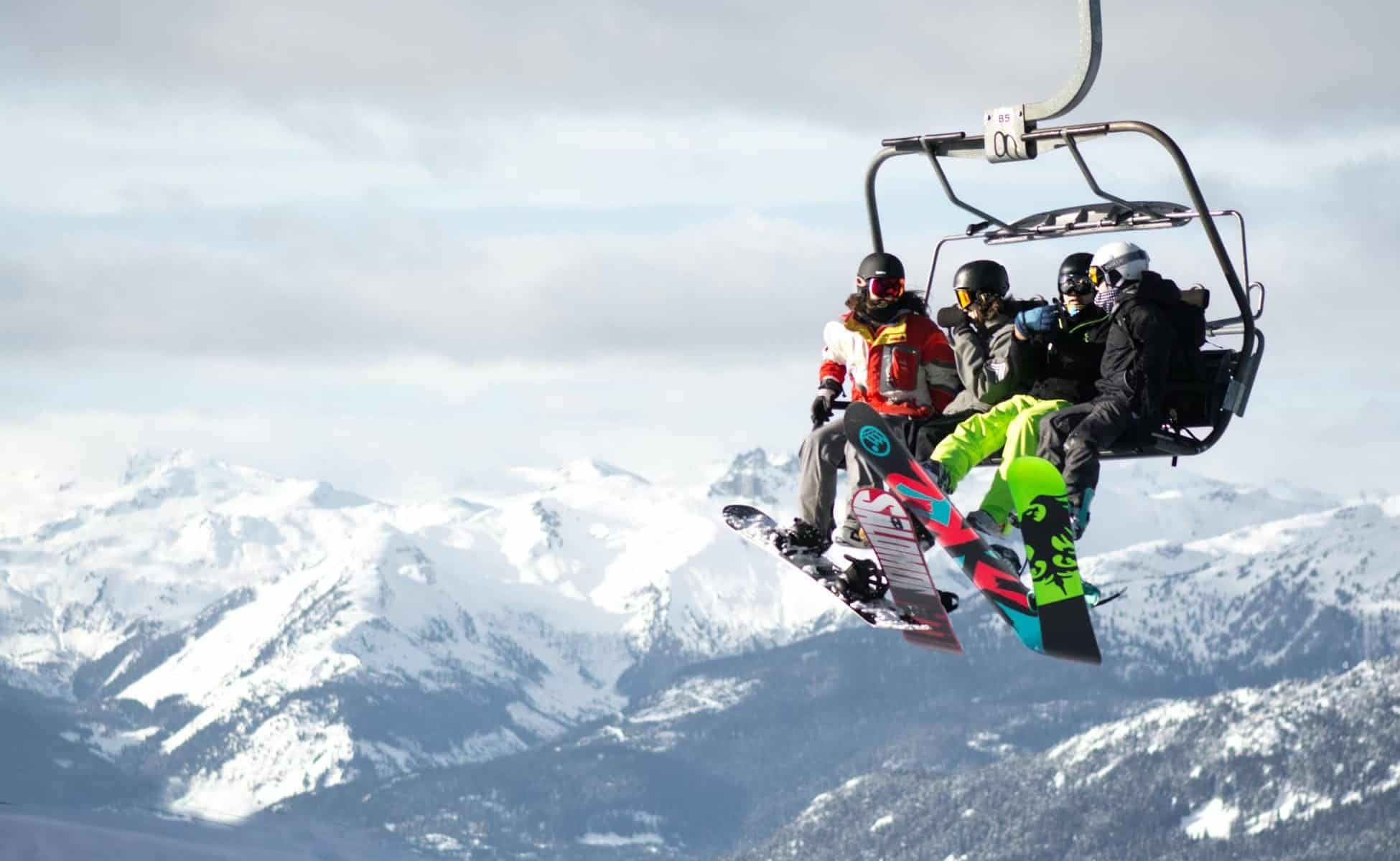 Visual of a Ski Resort