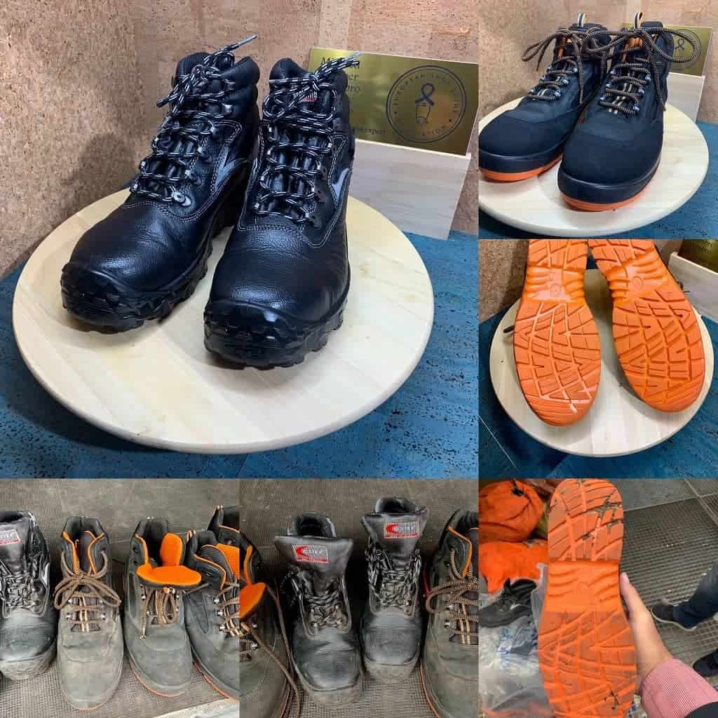 Visual of working shoes