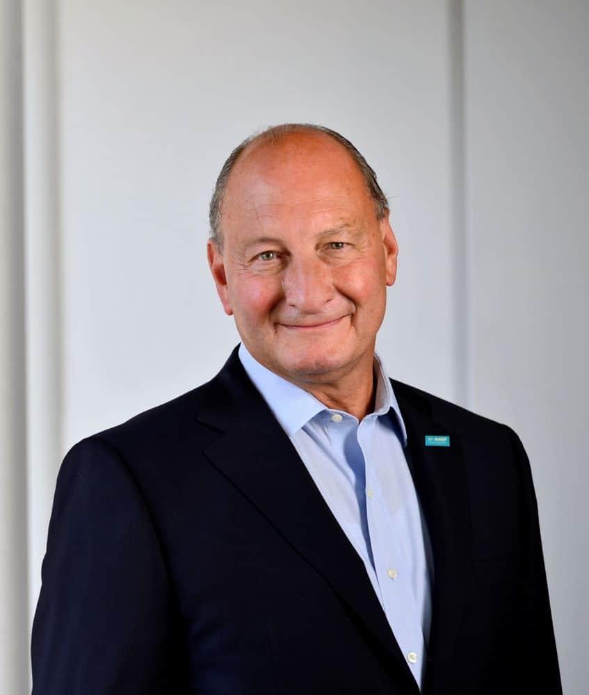 Photo of Wouter de Geest, CEO of BASF Antwerpen