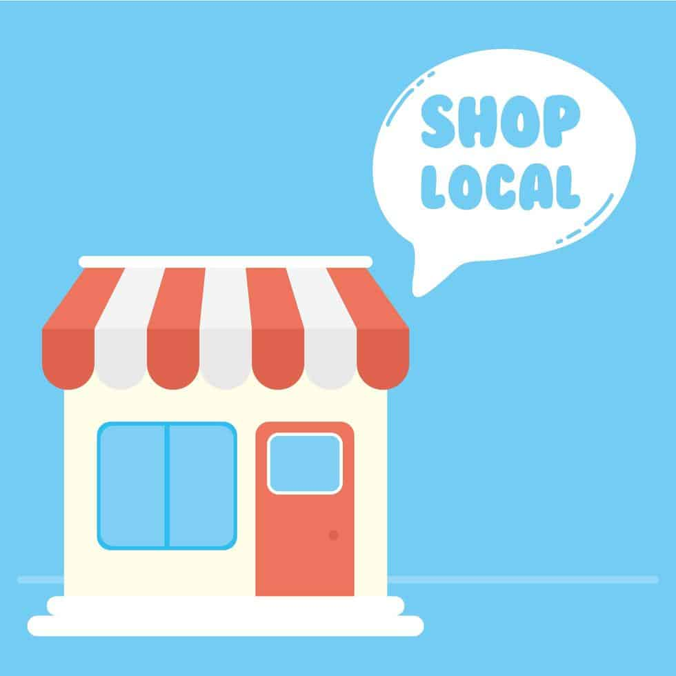 Visual of a local business for business directory